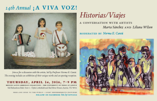 Spring Exhibition at the Lila Benson Latin American Library at the Univesrity of Texas at Austin.