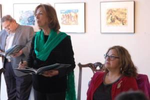 Book signing at Ruiz Healy Gallery, San Antonio,Texas