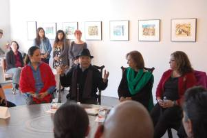 Tomas Ybarra Frausto at Ruiz Healy Galleryt